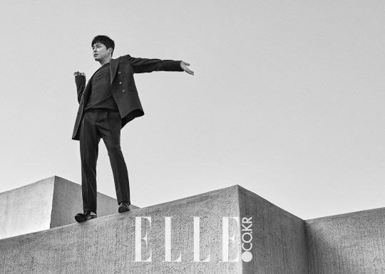 Jo Jung Suk Shows Off His Chic and Dandy Charms for Elle