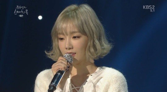 """Taeyeon Opens Up About Her Fear of Cameras on """"Yoo Hee Yeol's Sketchbook"""""""
