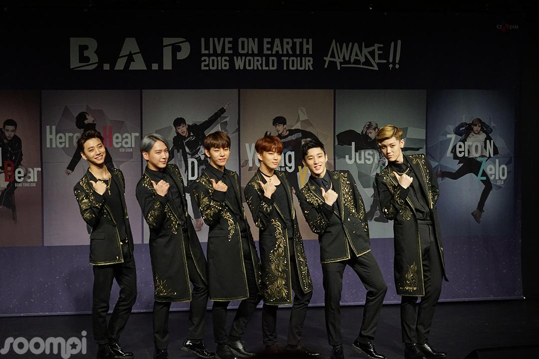 Exclusive: B.A.P World Tour Concert Press Conference