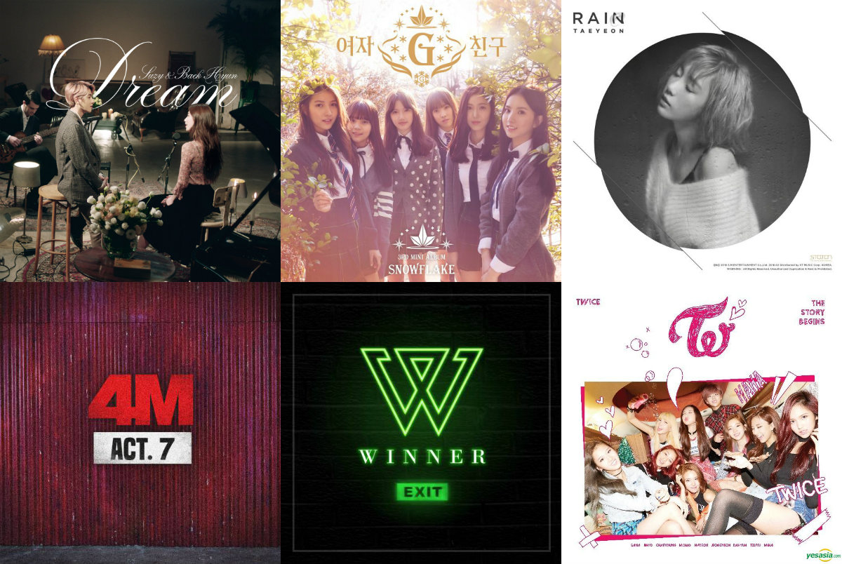Weekly K-Pop Music Chart 2016 – February Week 3