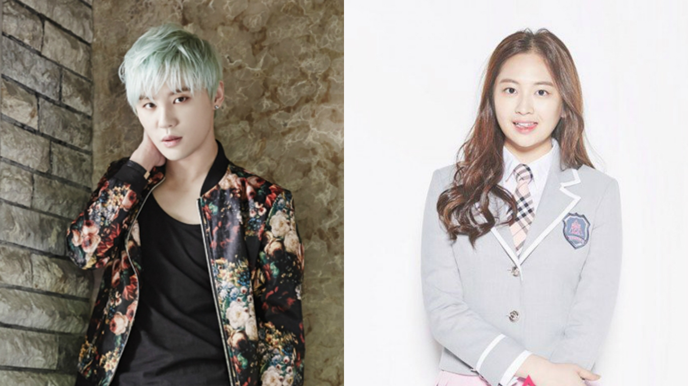 """JYJ's Junsu Shows Support for His Cousin Kim Tae Ha's Efforts on """"Produce 101"""""""