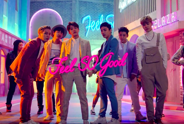 "Watch: B.A.P Makes Funky Comeback With ""Feel So Good"" MV"