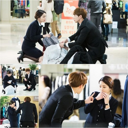 """Please Come Back, Mister"" Releases New Stills of Rain and Lee Min Jung"