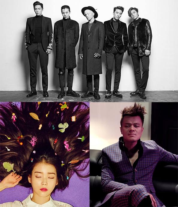 2016 Korean Music Awards Announces Netizens' Choice Artists of the Year