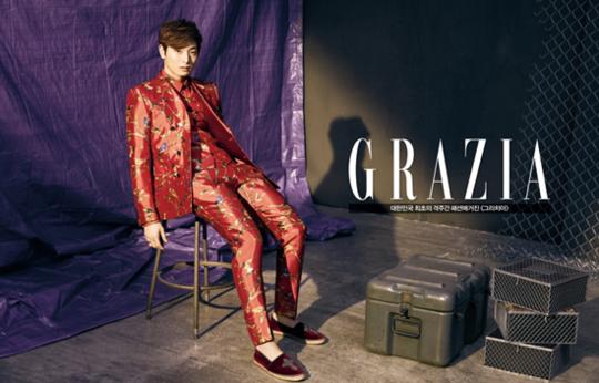 Jung Jin Woon Captures Women's Hearts in Pictorial for Grazia