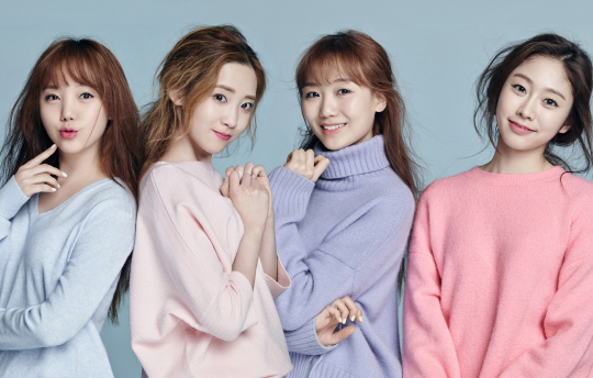 Lovelyz Are Spring Beauties in Marie Claire Pictorial