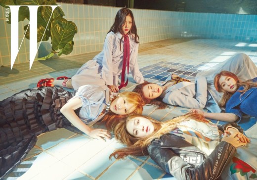 Red Velvet Helps Celebrate W Korea's 11th Anniversary