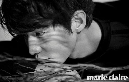 Song Jae Rim Transforms Between Boy and Man in Marie Claire Pictorial