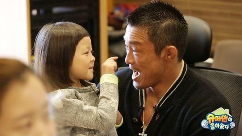 "Choo Sarang and Choo Sung Hoon Leaving ""The Return of Superman"""