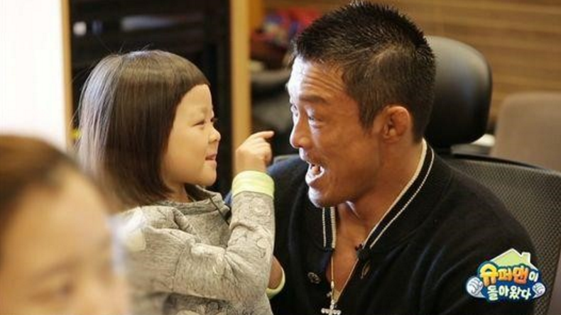 "Choo Sarang and Choo Sung Hoon Leaving ""The Return of Superman"""