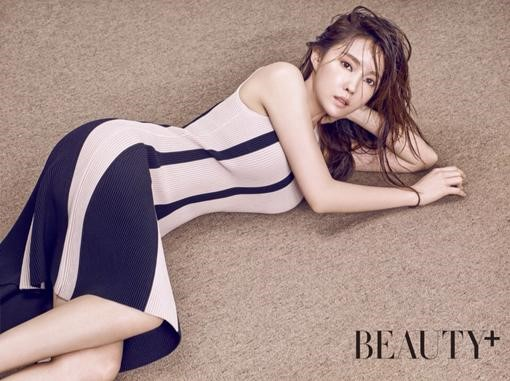 T-ara's Hyomin Teases Her Sexy Side in Beauty+ Pictorial