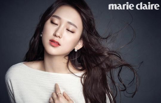 Actress Ryu Hye Young Shows Off Her Goddess Hair for Marie Claire
