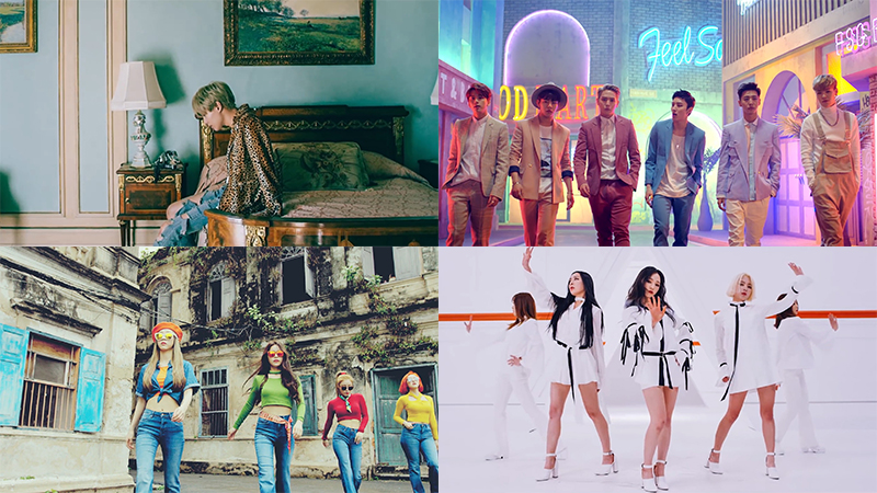 This Week in K-Pop MV Releases: Taemin, B.A.P, MAMAMOO and More – February Week 4