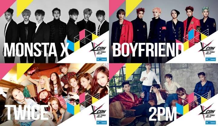 MONSTA X, TWICE, 2PM, Block B and More Join KCON Japan Line Up