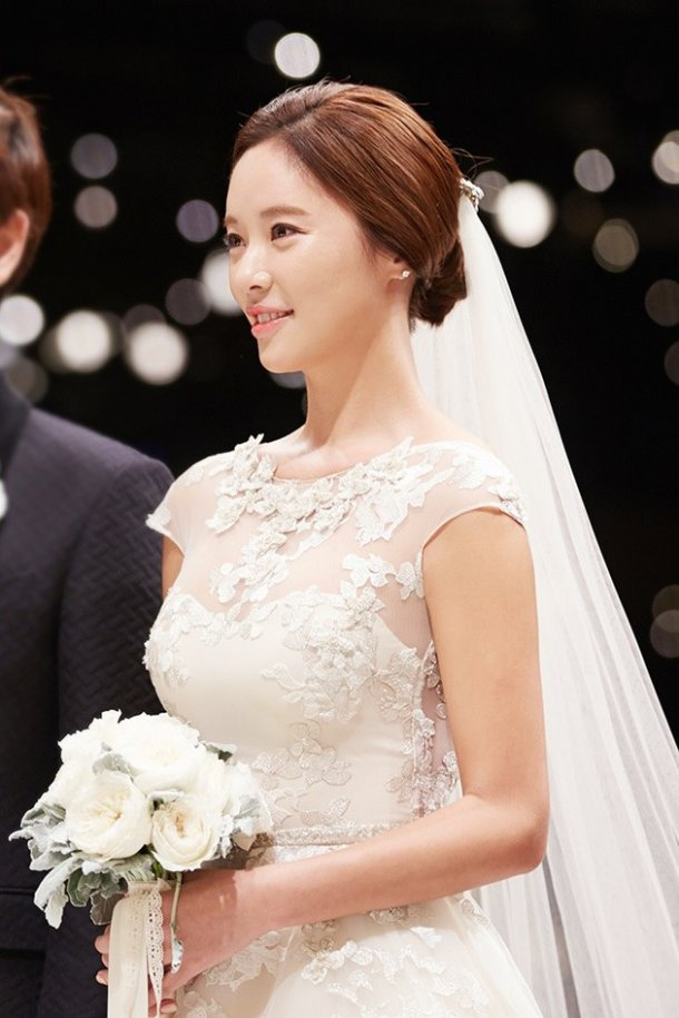 hwang jung eum wedding