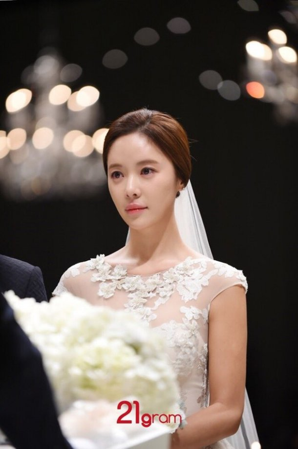 hwang jung eum wedding1