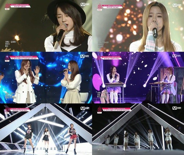 "Watch: ""Produce 101"" Trainees Nail Vocal Performance"