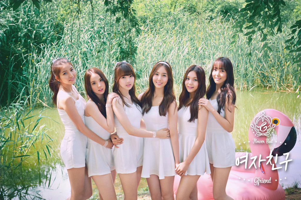"""GFRIEND Dominates Gaon's Monthly Charts With """"Rough"""""""