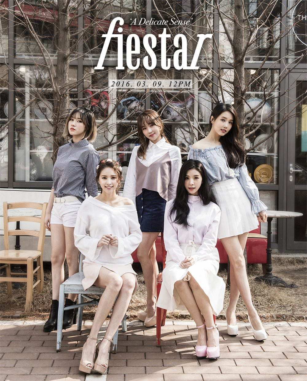 "FIESTAR Drops Teaser Images for ""A Delicate Sense"""