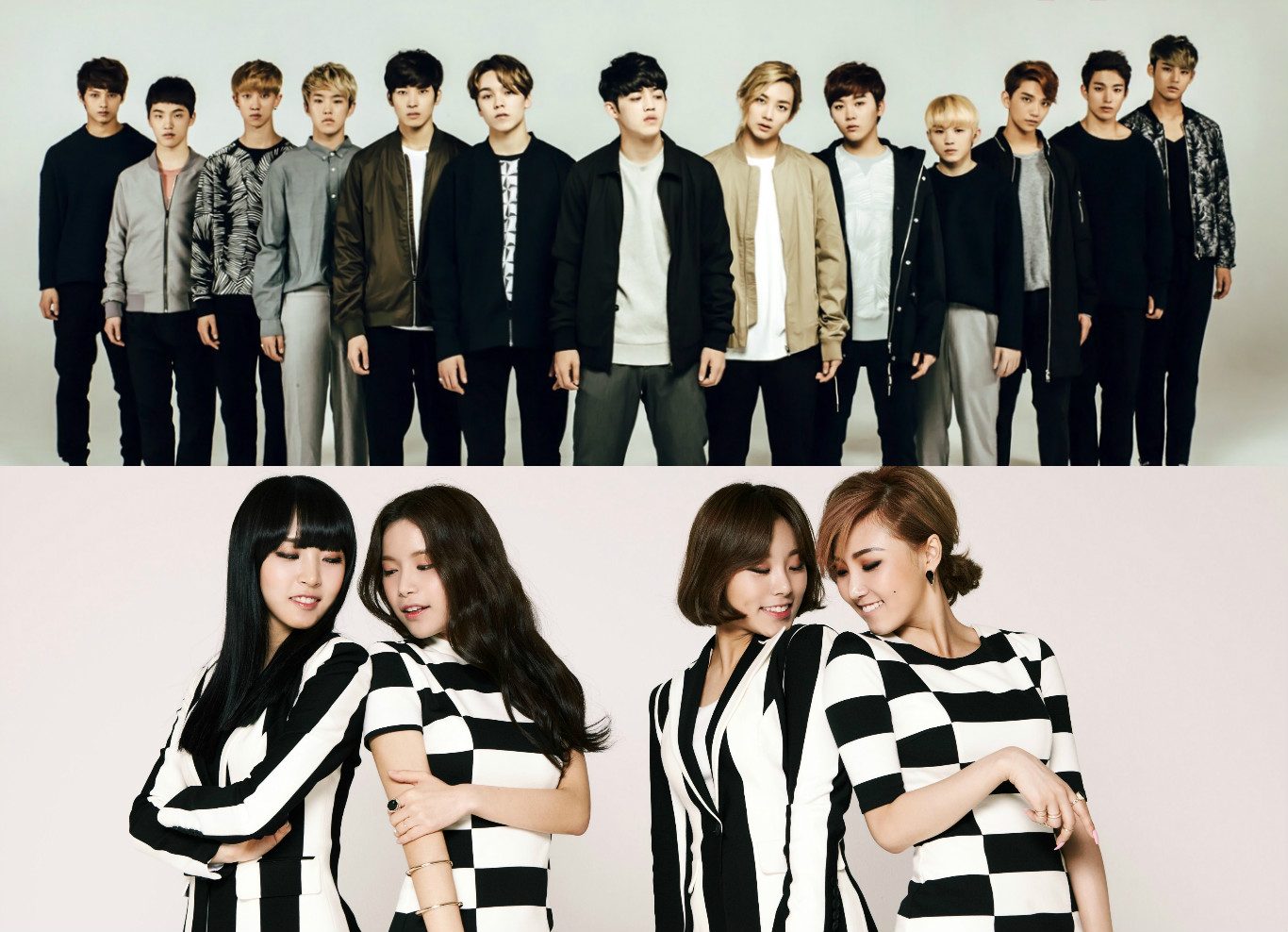 seventeen and mamamoo are the first artists to join the