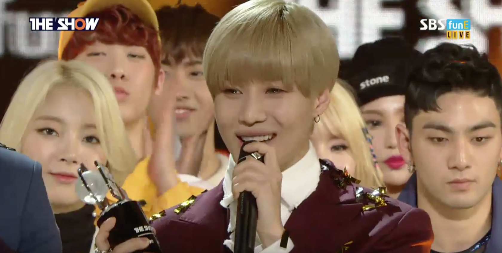 "Taemin Takes 1st Win for ""Press Your Number"" on ""The Show"""