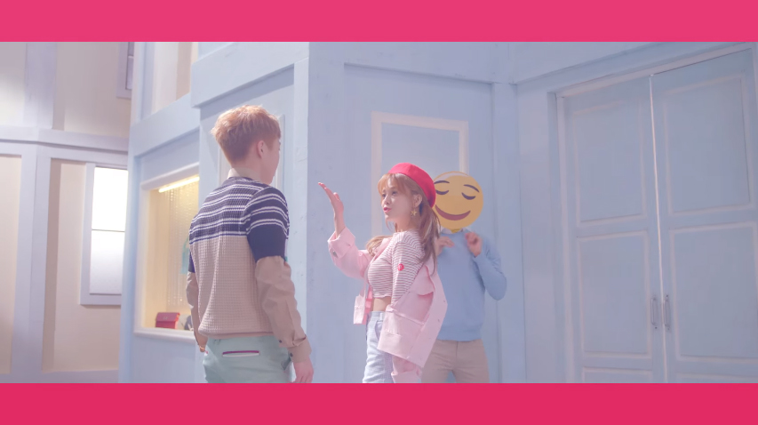 """AOA's Jimin and EXO's Xiumin Become a Cute Couple in MV Teaser for """"Call You Bae"""""""