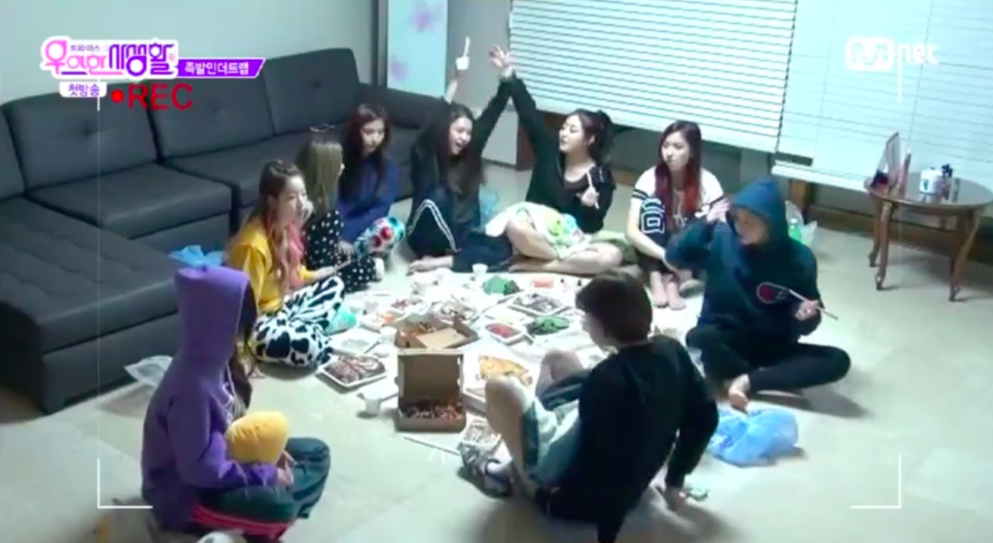 TWICE Reveals Their Hilarious and Super Stealthy Way of Sneaking In Delivery Food on New Reality Show
