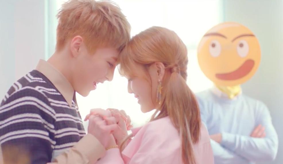 """AOA's Jimin Drops """"Call You Bae"""" MV Featuring EXO's Xiumin"""