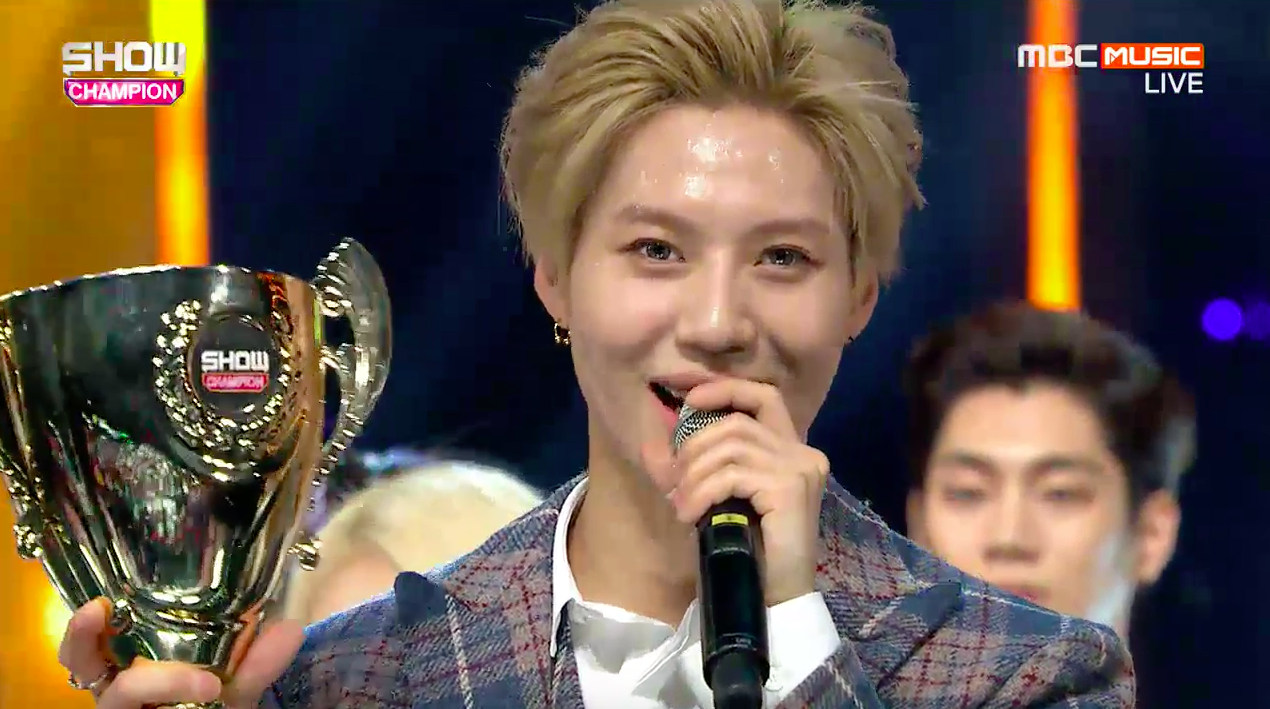 "Taemin Takes 2nd Win for ""Press Your Number"" on ""Show Champion,"" Performances by MAMAMOO, B.A.P, and More"
