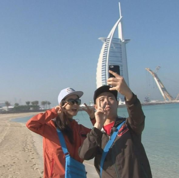 """Watch: """"Running Man"""" Teases Romance and Adventure With New Photos and Videos From Dubai"""
