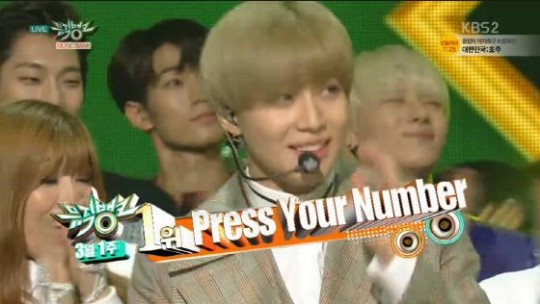 "Taemin Gets 4th Win With ""Press Your Number"" on ""Music Bank"" + Performances by CLC, KNK, B.A.P, and More"