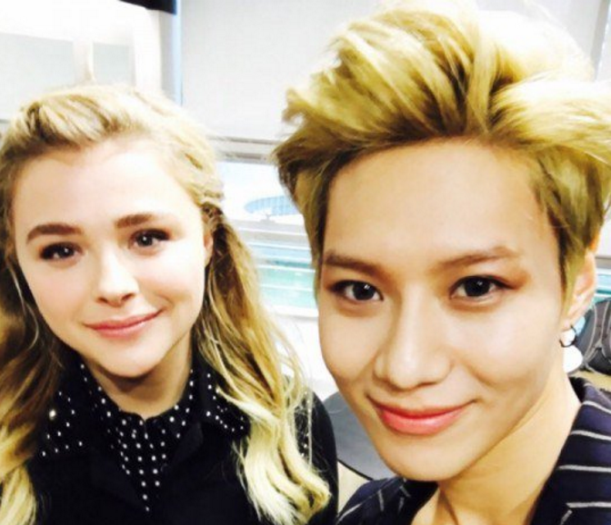 Chloe Moretz Meets Taemin, MAMAMOO, and More