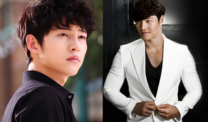"Song Joong Ki Says His Abs in ""Descendants of the Sun"" Are Thanks to Kim Jong Kook"