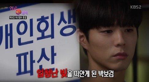 More Details About Park Bo Gum's Resolved Bankruptcy Case Revealed