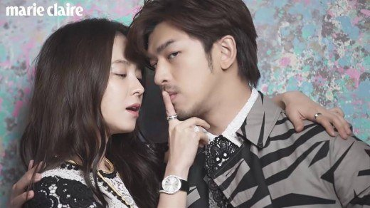 Song Ji Hyo and Chen Bolin Have Sizzling Chemistry Behind the Scenes of Marie Claire Shoot