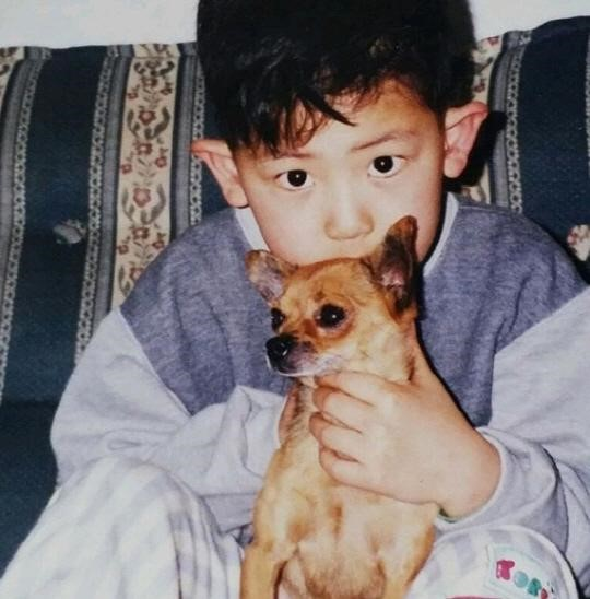 EXO's Chanyeol Is Wide Eyed and Adorable in Newly Revealed Baby Photo