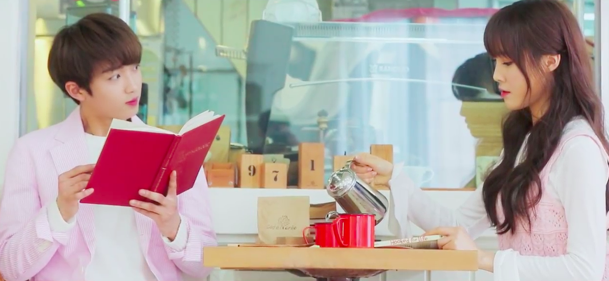 "UP10TION's Sunyoul and GFRIEND's Yuju Drop Teaser for ""Cherish"" MV"