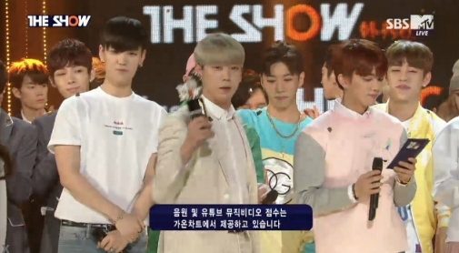 "B.A.P Takes 1st Win for ""Feel So Good"" on ""The Show"""