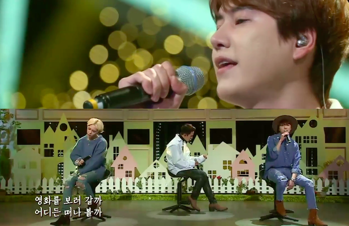"Watch: Super Junior's Kyuhyun and WINNER Wow With Performances on ""Sugar Man"""