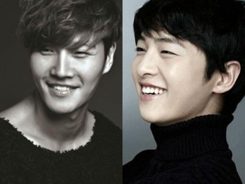 Song Joong Ki Kim Jong Kook