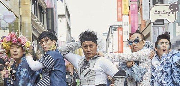 """Infinite Challenge"" Cast Members Become Fashion Kings"