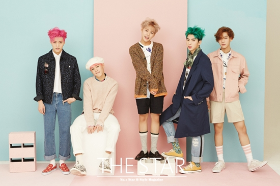 IMFACT Are Bright and Cheerful Boyfriends for The Star