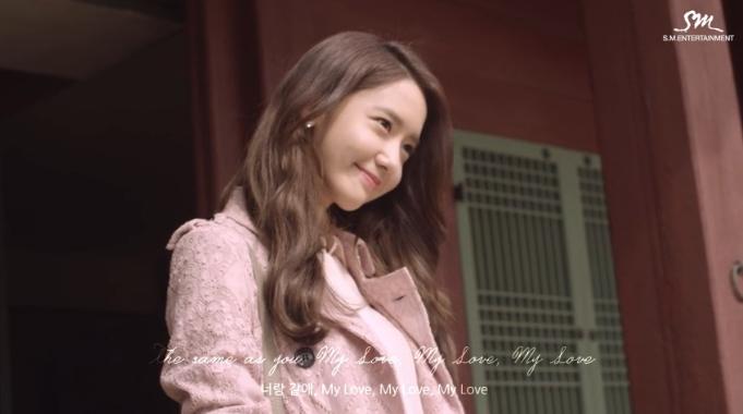 "Girls' Generation's YoonA and 10cm Drop ""Deoksugung Stonewall Walkway"" MV"