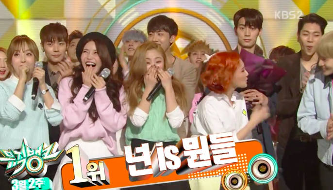"Watch: MAMAMOO Takes 4th Win for ""You're The Best"" on ""Music Bank"""