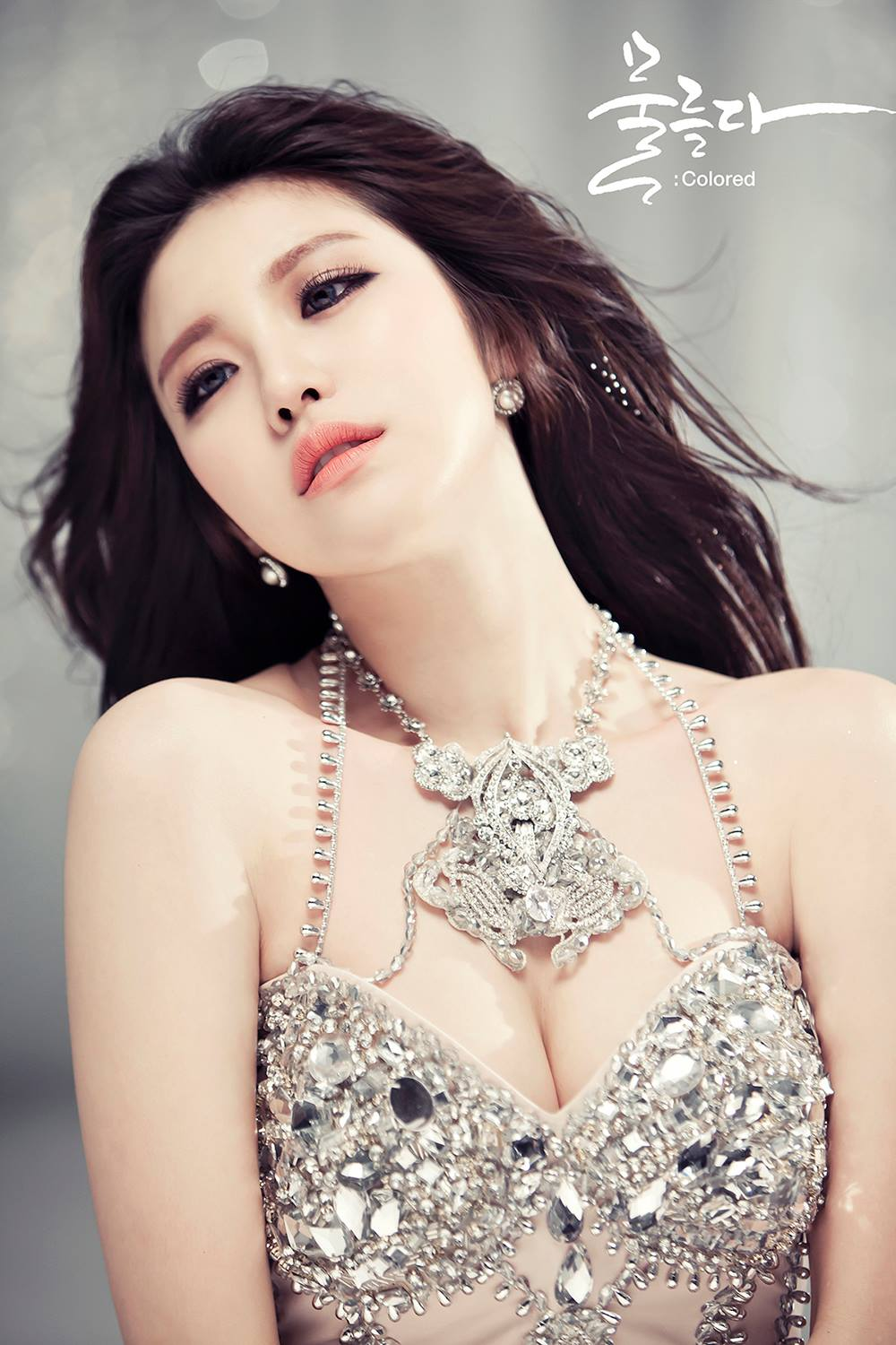 """Update: Secret's Hyosung Reveals """"Colored"""" Image and Video Teasers"""