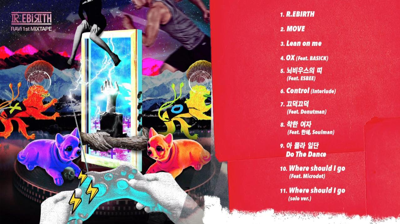 "Listen: VIXX's Ravi Unveils Full ""R.EBIRTH"" Mixtape"