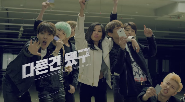Watch: BTS and Jessi Battle It Out in SK Telecom Commercial