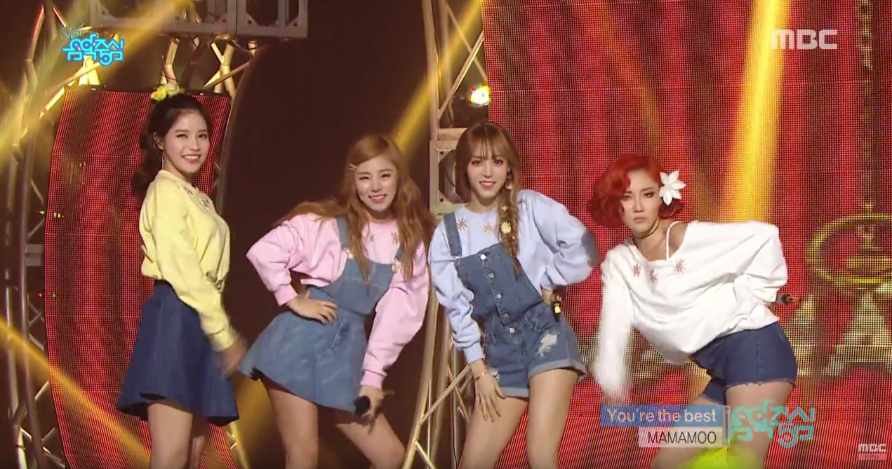"Watch: ""Music Core"" 3.12.16: MAMAMOO, Taemin, B.A.P, and More"