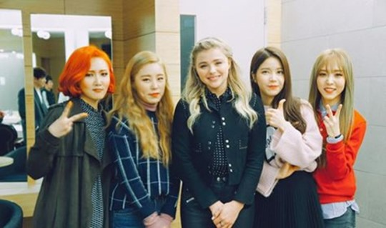 MAMAMOO Talks About Their Secret to Success and Chloe Moretz