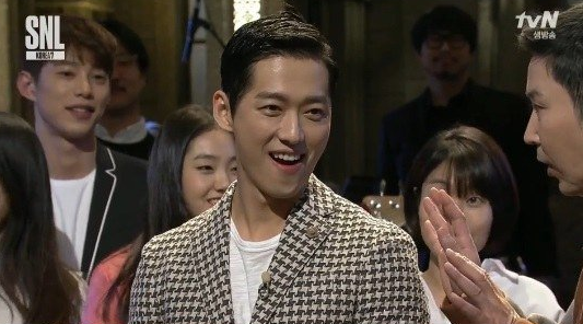 """Namgoong Min Caught Off Guard by Debut Clip Revealed on """"SNL Korea"""""""